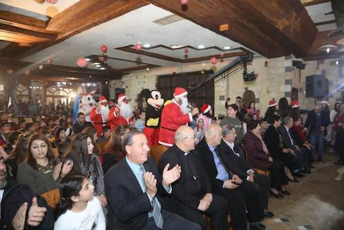 December 2018 - Report & pictures of our Syrian Children's Christmas Celebration