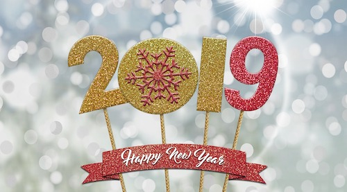 January 2019 - A Blessed New Year is Ours!