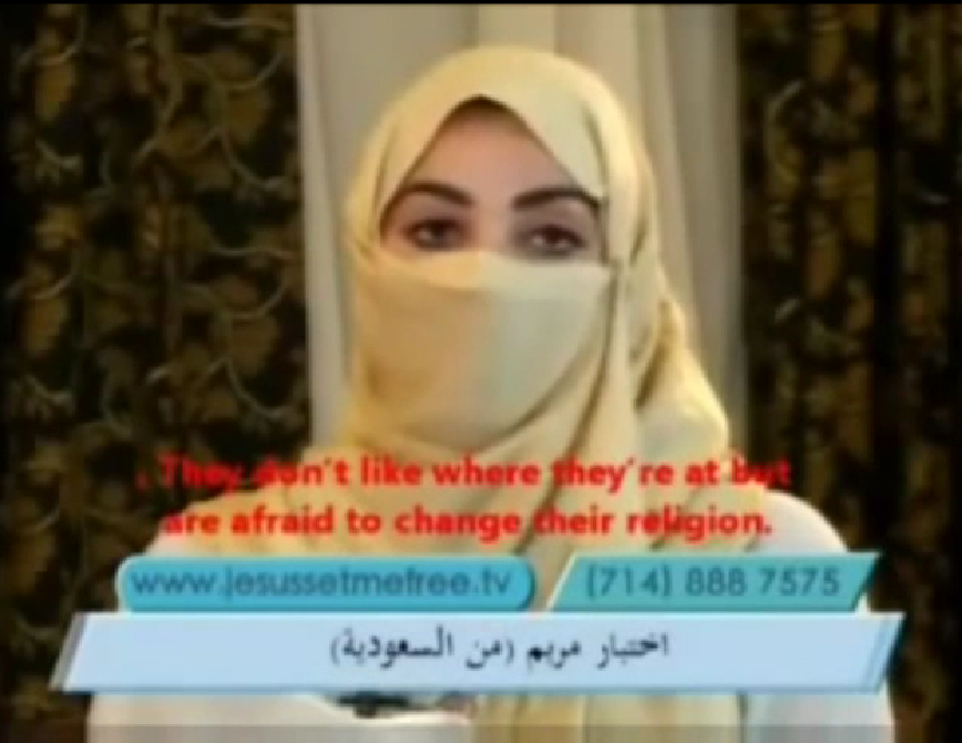 Saudis Converted to Christianity - Head Scarf is Biblical (1 Cor 11:10)